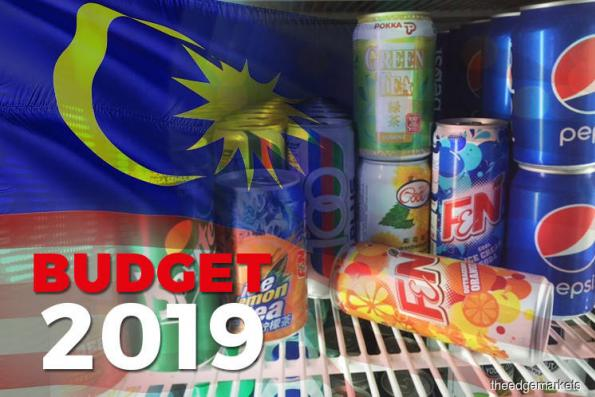 Budget: Excise duty of 40 sen/litre to be imposed on 2 categories of packaged sweet drinks from Apr 1