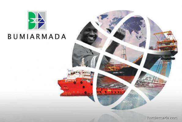Bumi Armada active, up 2.53% on positive technicals