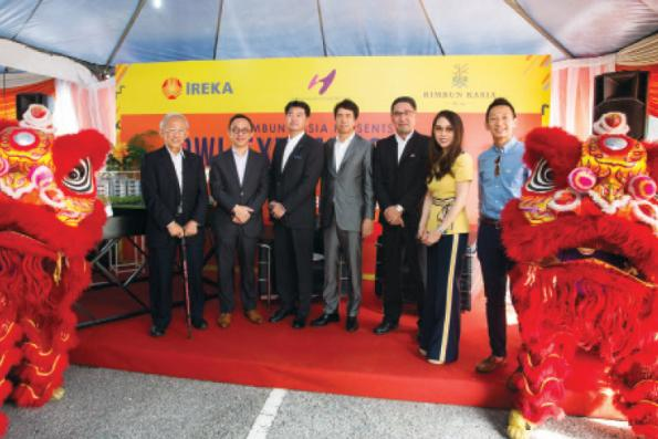Ireka and Hankyu Hanshin launch Dwi@Rimbun Kasia in Nilai