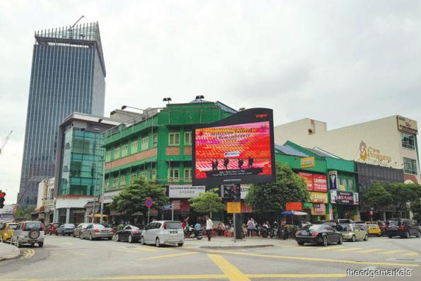 Jalan Imbi a mix of new and old developments