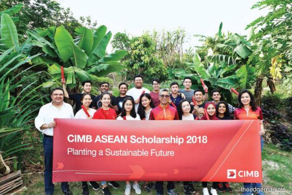 CIMB supports Asean talent growth with scholarships to 18