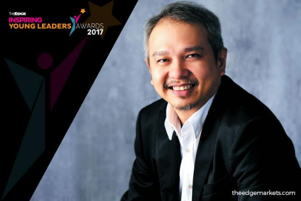 The Edge Inspiring Young Leaders Awards 2017: CHIU KENG GUAN – Film director
