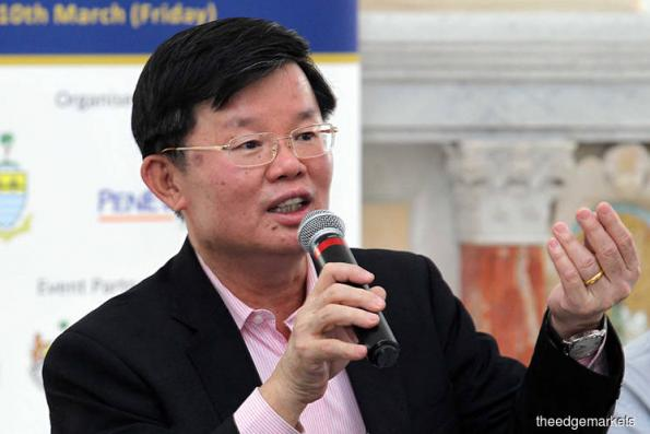 Penang pursuing studies for second airport