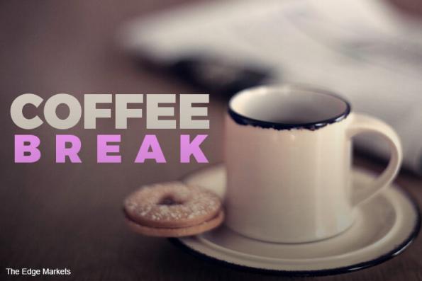 Coffee break: 'Tis the season for giving, not stealing