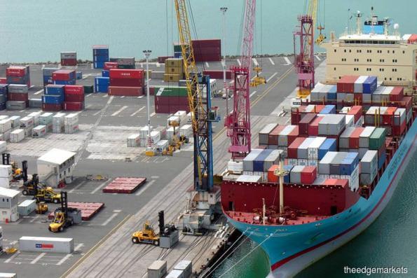大马9月出口按年增14.8% 低于预期