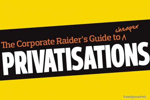 Cover Story: The Corporate Raider's Guide to cheaper PRIVATISATIONs