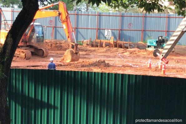 Construction work at Taman Desa goes on; DOSH investigation underway
