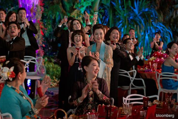 'Crazy Rich Asians' wins China debut months after U.S. premiere