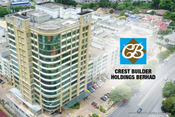 Immediate hurdle for Crest Builder at 93 sen, says AllianceDBS Research