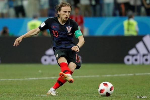Croatia captain Modric steps up after agonising penalty miss
