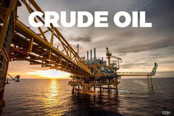 Oil falls as Saudi, Russian output rises