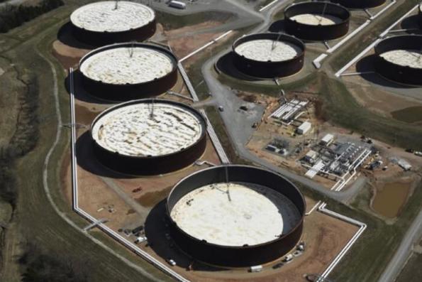 Oil rises three percent, but demand concerns still weigh