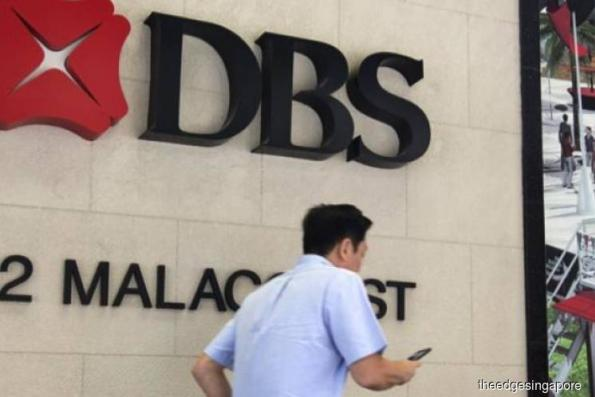 DBS 2Q net profit up 20% to S$1.37b from year ago; declares 60 cents interim dividend