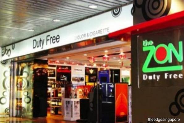 Duty Free International reports 40% lower 1Q earnings of S$3.1m on revenue slips