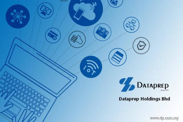 Dataprep active, slumps as much 10.45% on getting takeover offer