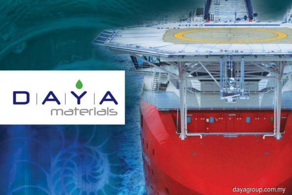 Daya Materials wins chemical supply contract from Petronas Carigali