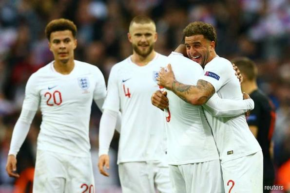 Captain Kane fires resilient England to Nations League finals