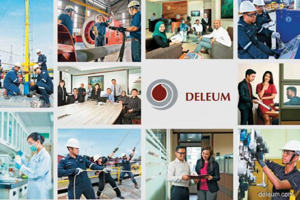 Deleum up 4.42% on landing 3-year Petronas Carigali job