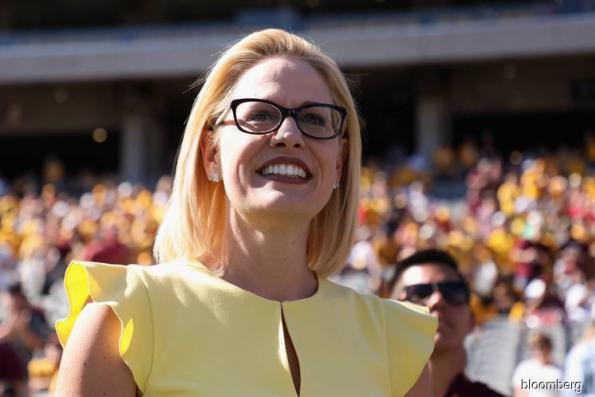 Democrat Sinema wins Republican-held U.S. Senate seat in Arizona