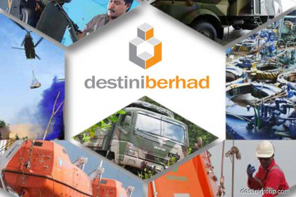 Destini active, up 9.68% on landing 3-year Carigali contract