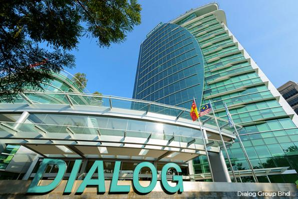Dialog active, up 1.04% on firmer 4Q earnings