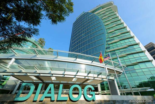 Dialog up after reporting 2Q profit rise