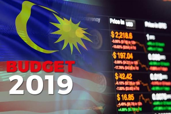 Budget: New framework to approve and monitor buy-and-sell of digital token and currencies will be gazetted in early 2019
