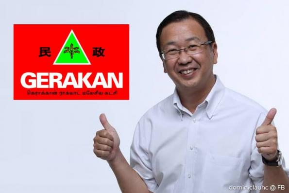 Dominic Lau to contest Gerakan president post