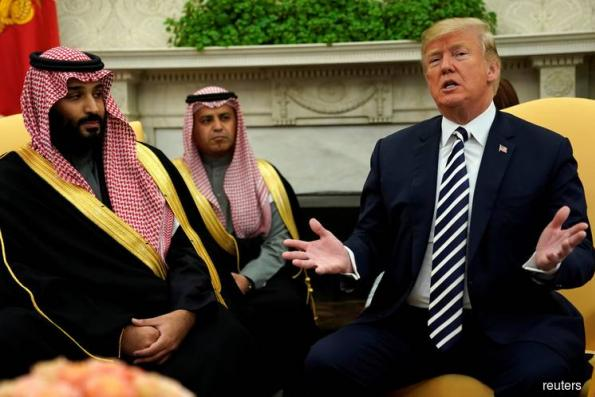 Trump Says `Would Be Bad' If Saudi Prince Knew of Khashoggi Fate