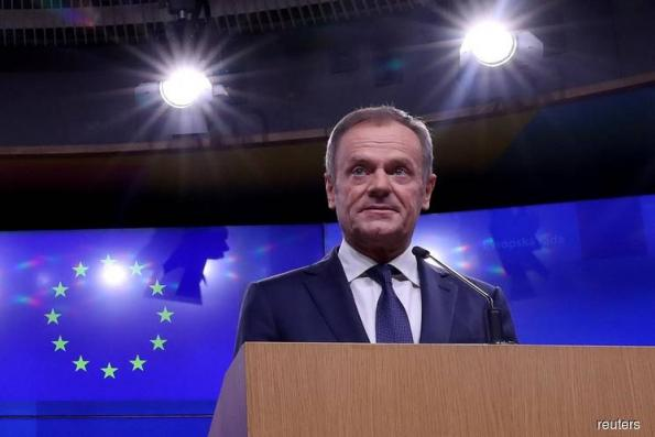 Tusk's `Place in Hell' Jibe Reflects Fear of Brexiters' Grip