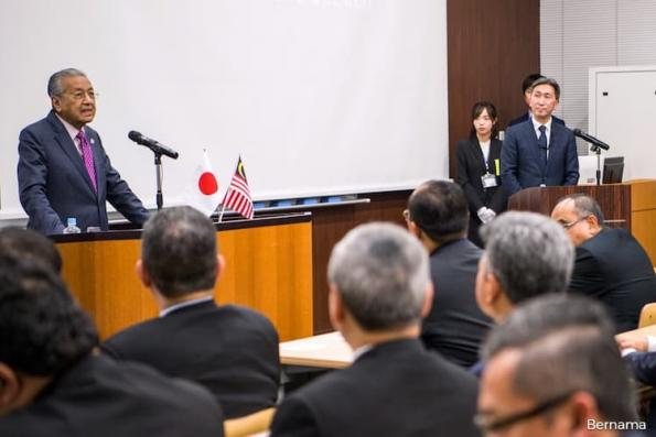 Dr Mahathir, Abe hold bilateral meeting in Tokyo