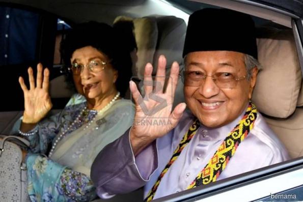Stroll down memory lane at alma mater for Dr M, Siti Hasmah
