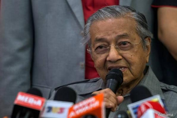 Malaysia looking forward to improving bilateral ties with China — Dr Mahathir