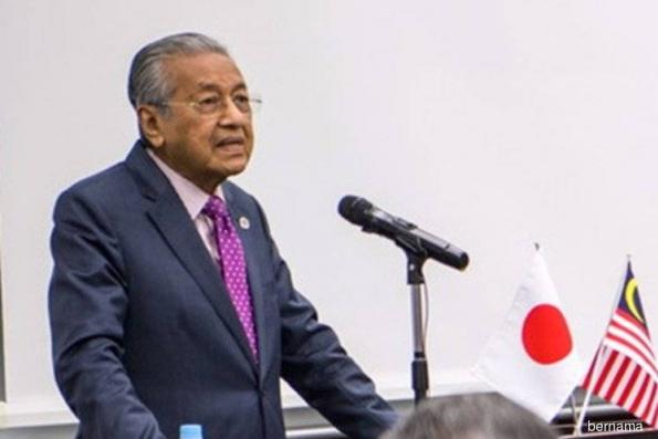 M'sian govt will remove obstacles to doing business, says Dr Mahathir