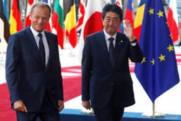EU, Japan conclude world's largest free trade agreement