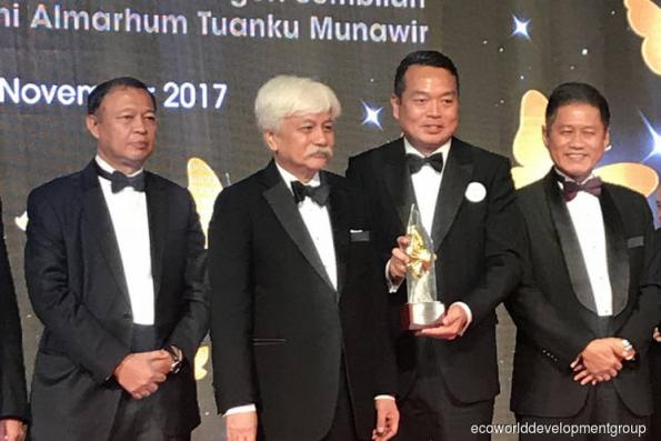 EcoWorld's Eco Business Park 1 wins at Malaysia Property Award 2017