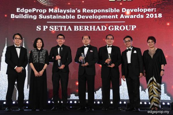 EdgeProp Malaysia's Best Managed Property Awards 2018 gala dinner
