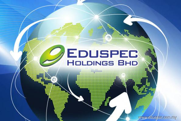 Eduspec active, rises 25% on fixing price for private placement