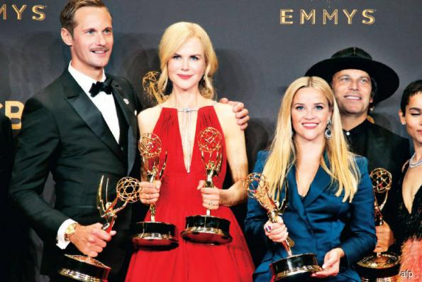 Big moments at the Emmys