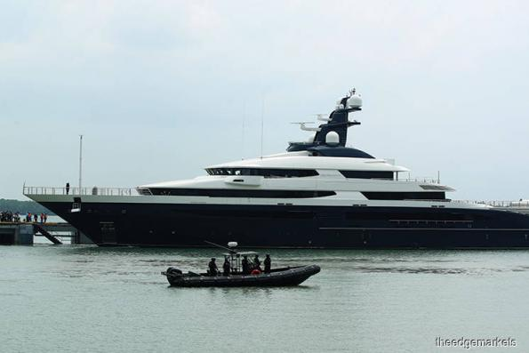 Malaysia A-G issues warrant to properly seize Equanimity yacht
