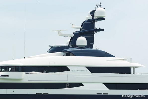 1MDB claims ownership of super yacht Equanimity