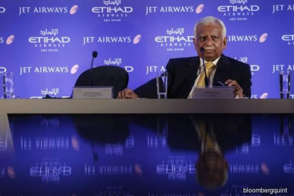 Etihad agrees to raise stake in India's Jet to 49%, report says