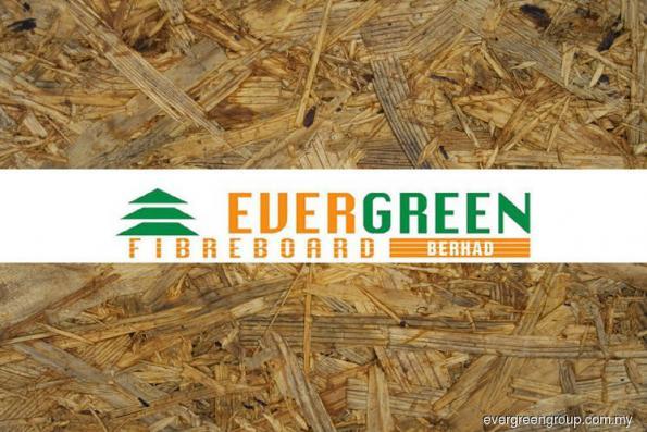 Evergreen Fibreboard 1Q net profit falls 36% on lower ASP, higher forex loss