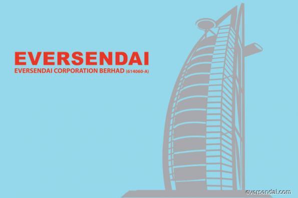 Eversendai rises 1.56% on YTD jobs worth RM1.44 billion