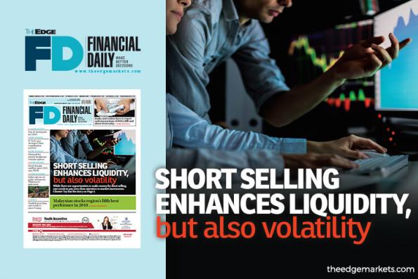 Short selling enhances liquidity, but also volatility