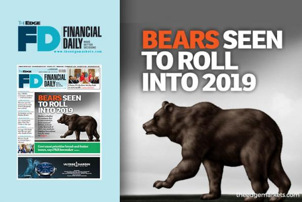 Bears seen to roll into 2019