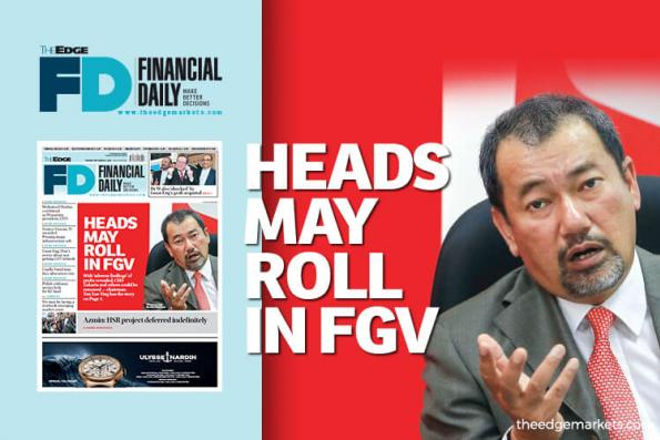 Heads may roll in FGV