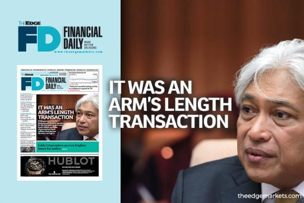 'It was an arm's length transaction'