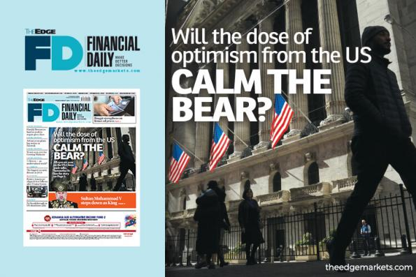 Will the dose of optimism from the US calm the bear?