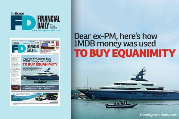 尊敬的前首相 这就是1MDB的钱如何用来买平静号